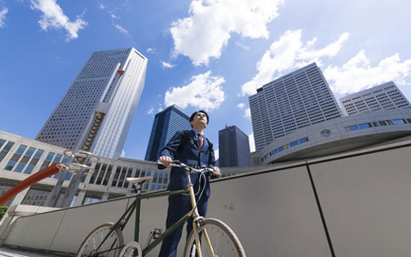自転車通勤ならクロスバイクがおすすめ