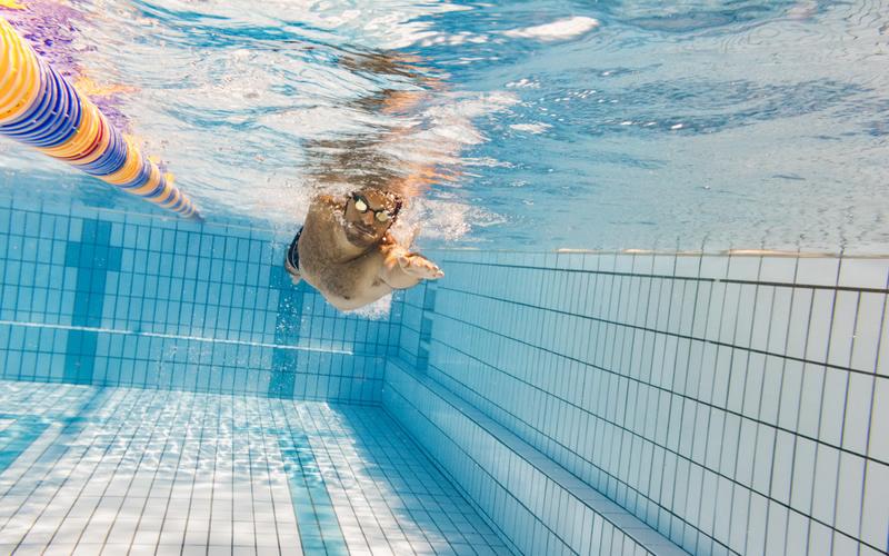 大人になって水泳を始めた人と水泳選手との違い